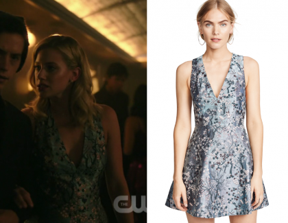 Riverdale Season 3 Episode 3 Betty S Floral Printed Mini Dress