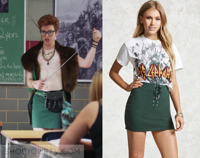 Heathers Fashion, Clothes, Style and Wardrobe worn on TV
