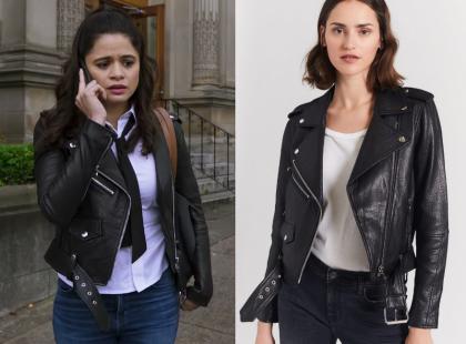 Charmed: Season 1 Episode 5 Mel's Leather Jacket   Shop Your TV