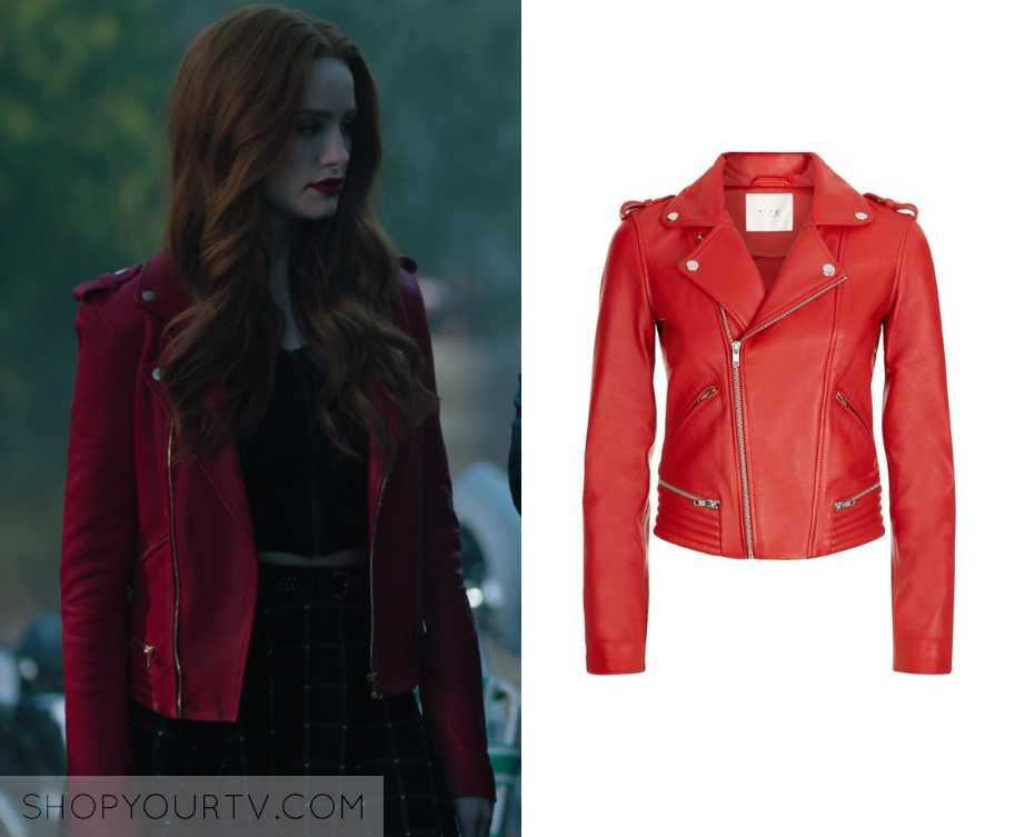 Riverdale Season 3 Episode 9 Cheryl S Red Leather Jacket