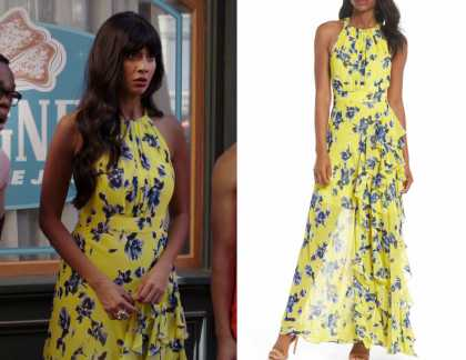 The Good Place: Season 3 Episode 13 Tahani's Yellow Floral