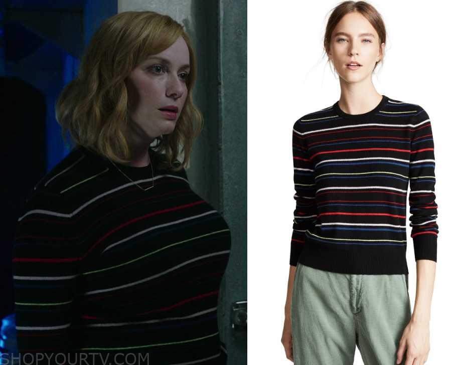 Good Girls: Season 2 Episode 2 Beth's Striped Sweater | Shop