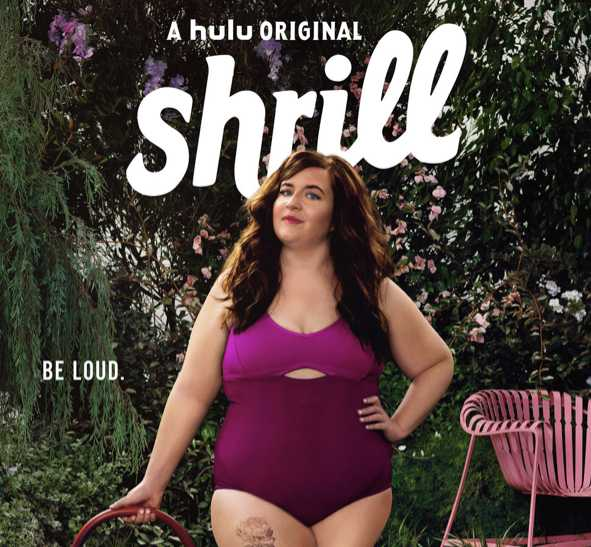 03437540f61 Shrill: Season 1 Episode 4 Annie's Colorblock One-Piece Swimsuit ...