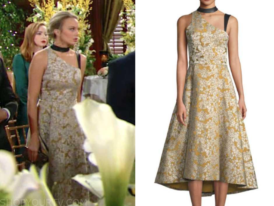 Alice + Olivia Chrissy Sleeveless Floral Midi Dress w/ Leather Trim