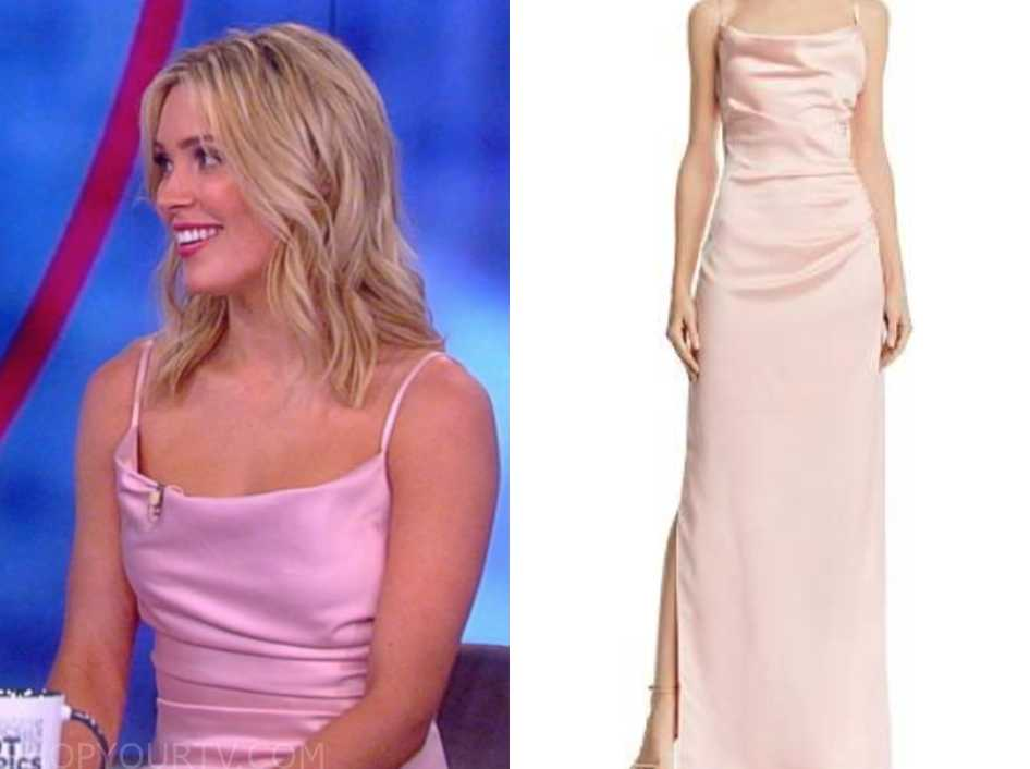 cf84a31df9c5 The View  March 2019 Cassie s Blush Pink Dress