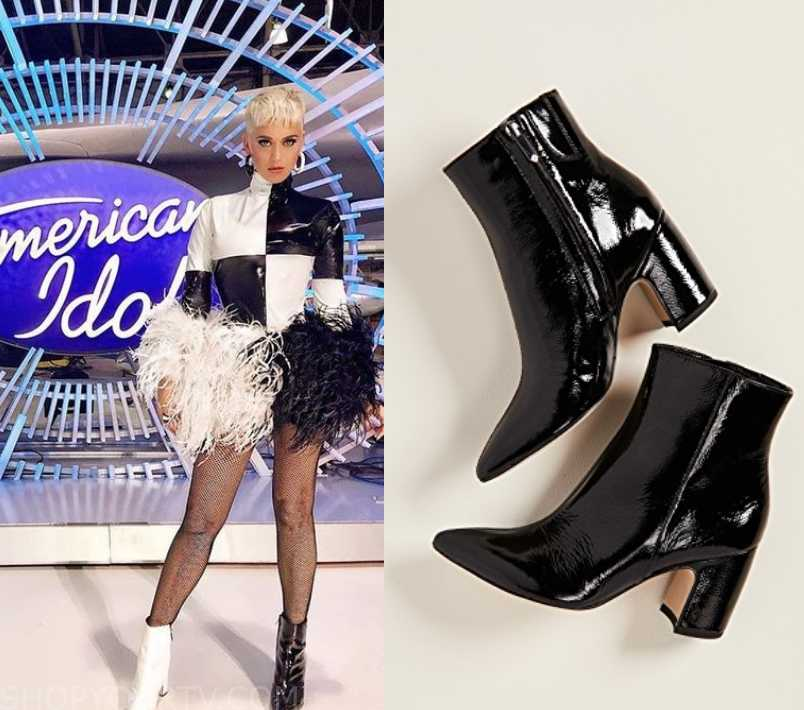 f7bb05031d American Idol: Season 17 Katy Perry's Black Ankle Boots