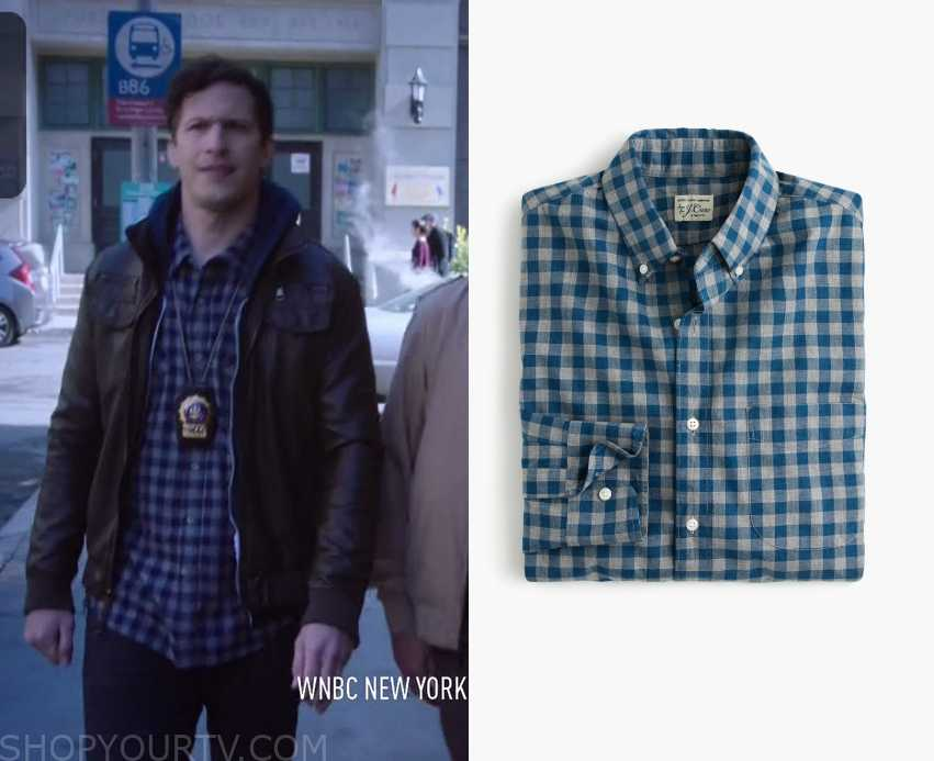 Jake Peralta Fashion, Clothes, Style and Wardrobe worn on TV