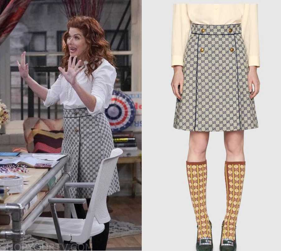 Will and Grace Fashion, Clothes, Style and Wardrobe worn on TV Shows