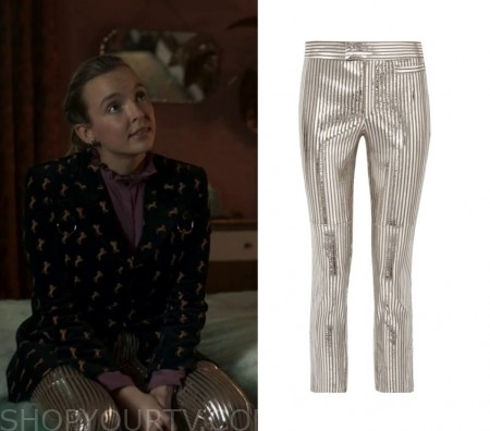 Killing Eve: Season 2 Episode 3 Villanelle's Silver Striped