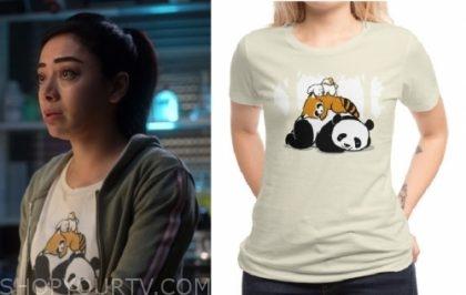 247d5c5e2 Lucifer : Season 4 Episode 10 Ella's animals sleeping t-shirt   Shop ...