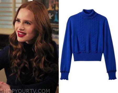 85d3fc8aa Riverdale  Season 3 Episode 20 Cheryl s Blue Turtleneck Sweater