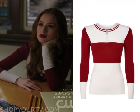 54ca775b3 Riverdale  Season 3 Episode 20 Cheryl s Red White Sweater