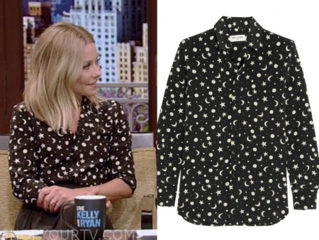 kelly ripa, kelly's fashion finder, live with kelly and ryan, fashion, outfit, style, wardrobe, clothes
