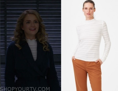 Supergirl Fashion, Clothes, Style and Wardrobe worn on TV Shows