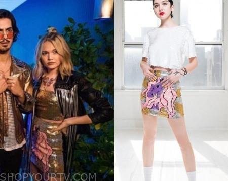 Carly Now Apocalypse Fashion Clothes Style And Wardrobe Worn On Tv Shows Shop Your Tv
