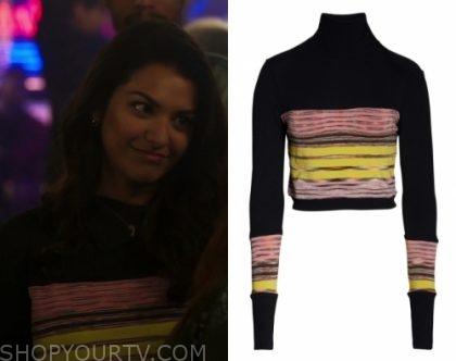In The Dark: Season 1 Episode 9 Vanessa's Striped Sweater | Shop Your TV