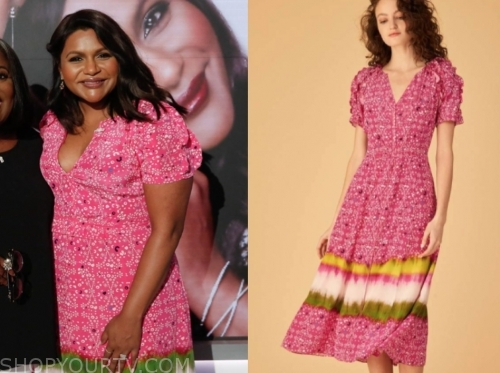 Mindy Kaling Fashion Clothes Style And Wardrobe Worn On Tv Shows Shop Your Tv