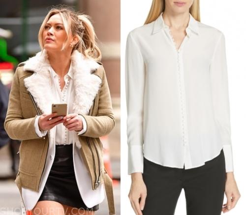 42155092e Younger: Season 6 Kelsey's Button Front Shirt   Shop Your TV