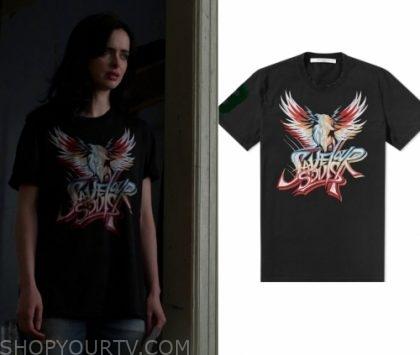 Jessica Jones: Season 3 Episode 9 Jessica's Eagle Black Tee