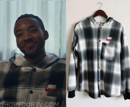 beautiful style authentic diversified latest designs Euphoria: Season 1 Episode 2 Chris' Plaid Nike Shirt | Shop ...
