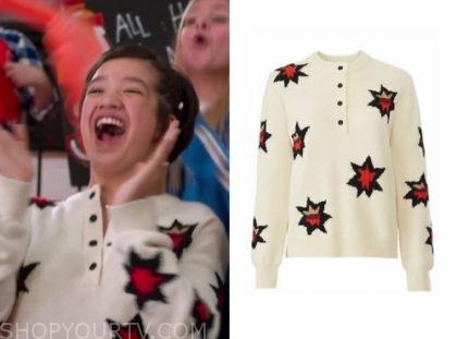 Andi Mack: Season 3 Episode 18 Andi's Star Henley Sweater
