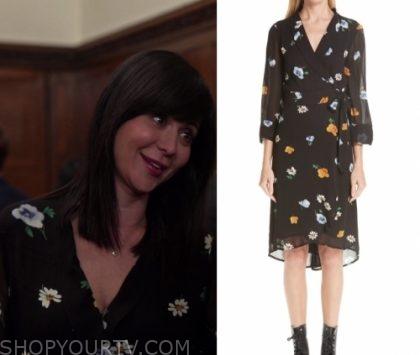 Good Witch: Season 5 Episode 6 Cassie's Floral Wrap Dress   Shop Your TV