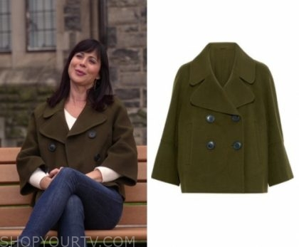 Good Witch: Season 5 Episode 6 Cassie's Cropped Double Breasted Coat