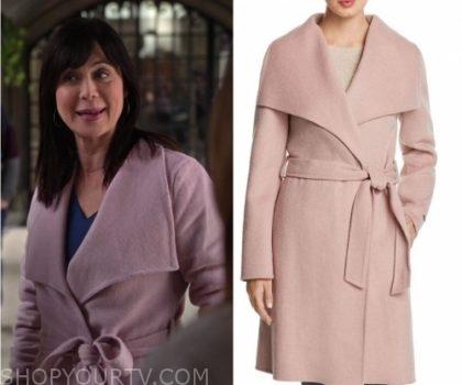 Good Witch: Season 5 Episode 6 Cassie's Pink Wrap Coat   Shop Your TV