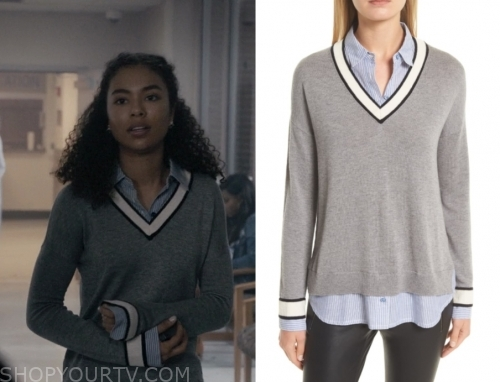 Scream Fashion, Clothes, Style and Wardrobe worn on TV Shows
