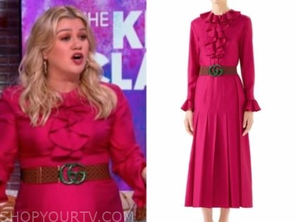 the kelly clarkson show fashion