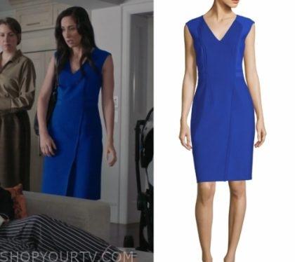 Workin' Moms: Season 3 Episode 6 Kate's Blue Dress   Shop