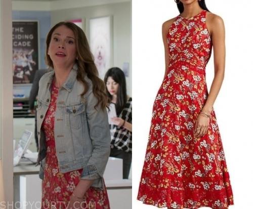 Younger: Season 6 Episode 12 Liza's Purple Satin Gown | Shop