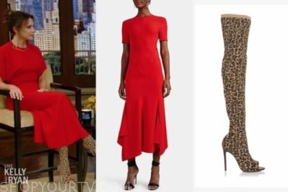 Live With Kelly And Ryan October 2019 Victoria Beckham S Red
