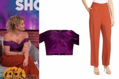 the kelly clarkson show fashion