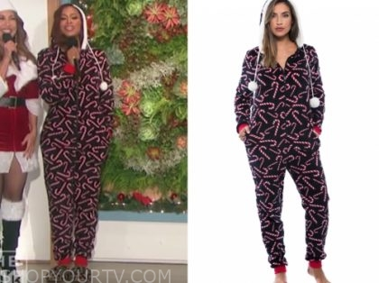 eve's candy cane onesie