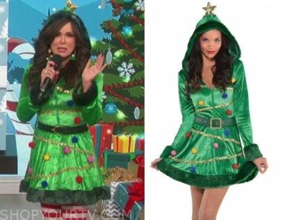 marie osmond christmas tree costume