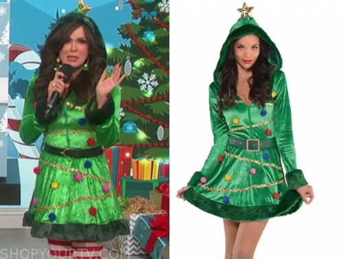 marie osmond christmas tree costume