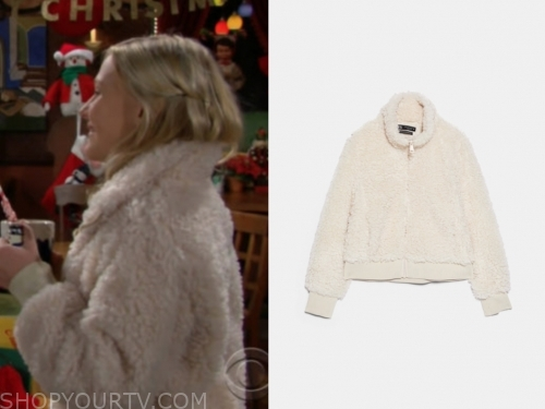 faith newman's fleece jacket