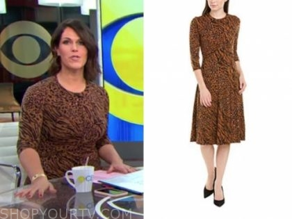dana jacobson's leopard dress