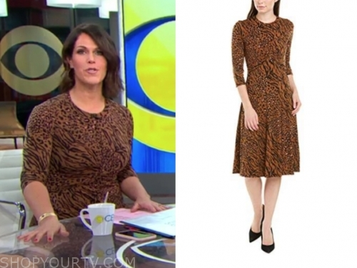 dana jacobson's leopard dress