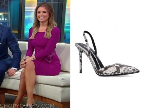 jillian mele's snakeskin heels