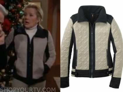 nikki newman's quilted riding jacket