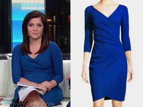 rachel campos duffy's blue dress