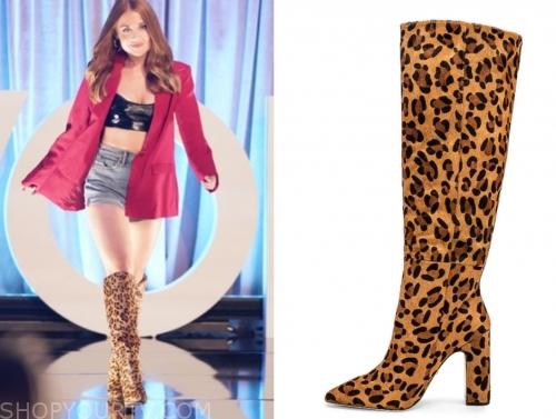 lexi's leopard boots, the bachelor