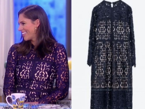 abby huntsman's blue floral dress