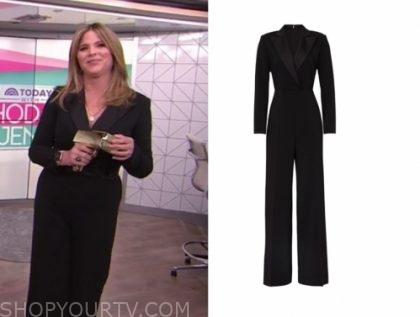 jenna bush hager's black jumpsuit