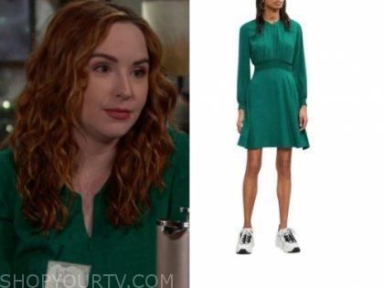 mariah's green dress