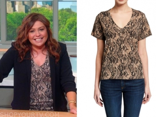 rachael ray's snakeskin top