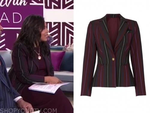 sheinelle jones's striped blazer