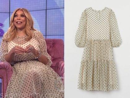 wendy williams's polka dot tulle dress
